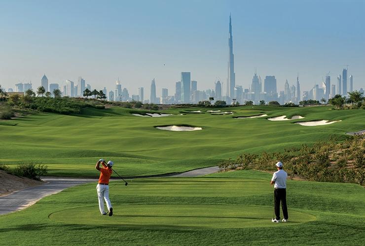 DAY 3 - 3 April 2021 Dubai - Play Golf